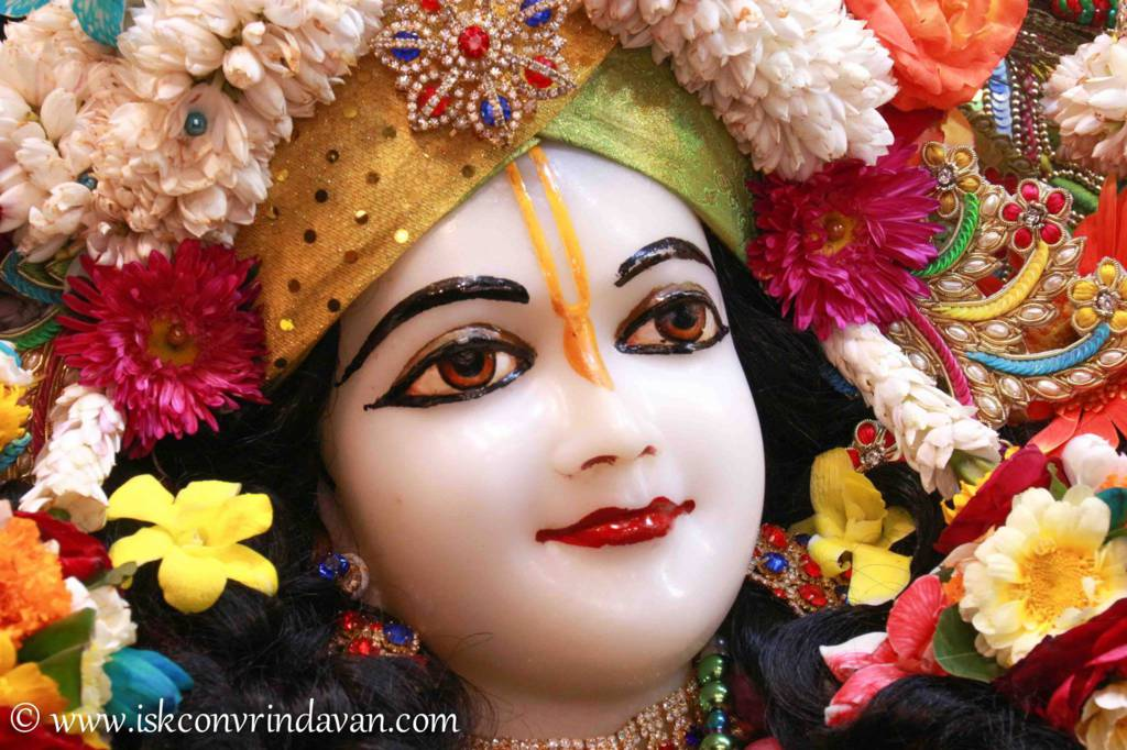 ISKCON Vrindavan Sringar Deity Darshan 26 Feb 2016 (1)