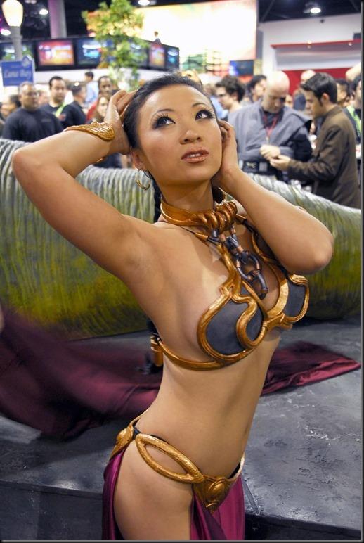 Princess Leia - Golden Bikini Cosplay_865825-0005