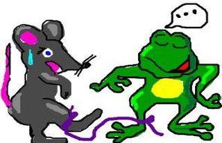 El raton y la rana fabula nfantil con moraleja