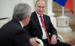 Vladimir-Putin, Raul-Khadjimba, Moscow