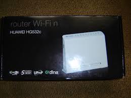 Vendo router wifi Huawei HG 532c  de