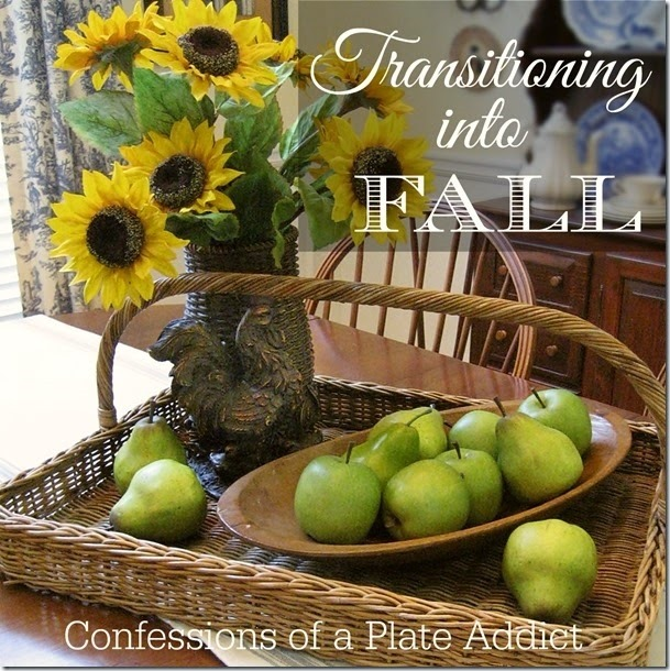 CONFESSIONS OF A PLATE ADDICT Transitioning into Fall