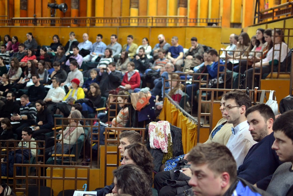 045 Avva Justin Parvu si Sfintii inchisorilor (Teatrul Luceafarul, Iasi, 2014.03.19)