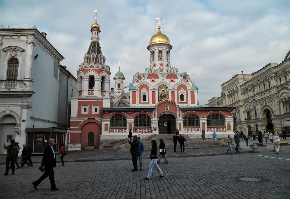 Moscow is full of lovely orthodox churches like this one!