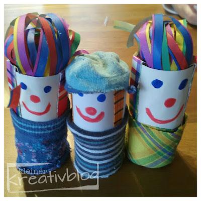 kleiner-kreativblog: Kleine Clowns