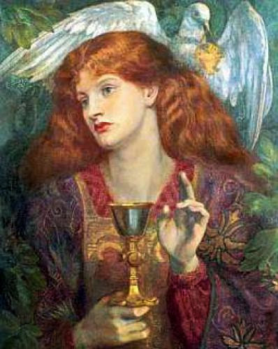 Mary Magdalene Golden Heart Of Magdalene Chamber Via Natalie Glasson
