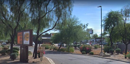 Street View Google Maps, Cracker Barrel North Phoenix
