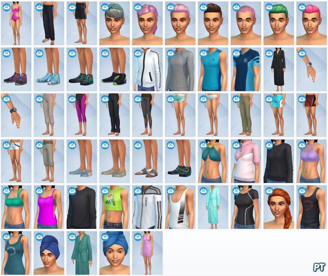 De Sims 4 Wellnessdag nieuwe CAS-items