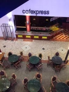 Blick auf cafeexpress
