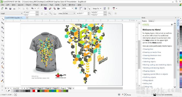 [Download] Corel Draw Graphics Suite 8 (2016) 2