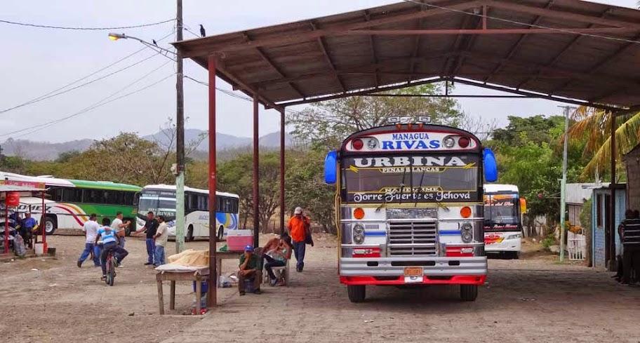 autocarro nicaragua