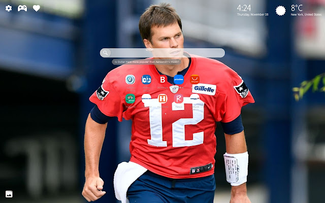 Tom Brady Wallpapers New Tab
