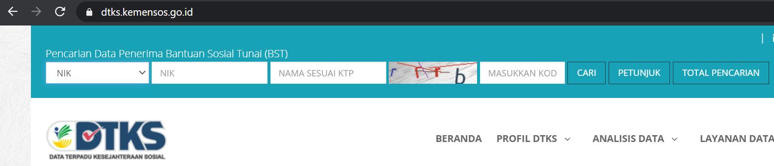 Jangan Lupa Cek NIK KTP di dtks.kemensos.go.id untuk Dapatkan Bantuan BST Rp300 Ribu yang Cair Desember Ini