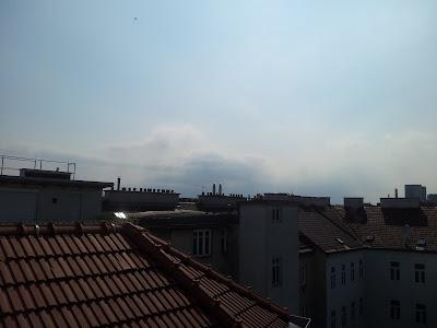 Am Nachmittag machten sich dann erstmals wieder Wolken bemerkbar