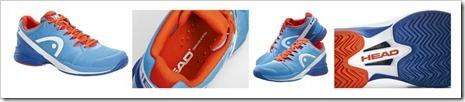 Además, la zapatilla incorpora la tecnología HEAD TRI-NRG