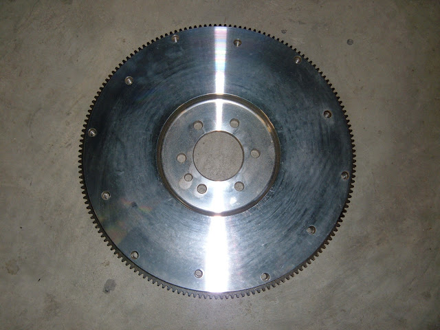 Check flywheel section ..