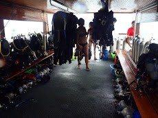 The big boat with Lanta Divers which accommodated 40 divers!