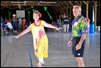 11b - Hawaiian Luau - May 30 - Linda looking wonderful