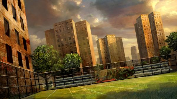 Nflstreet Cage, Magical Landscapes 3