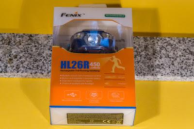 Verpackung der Fenix HL26R