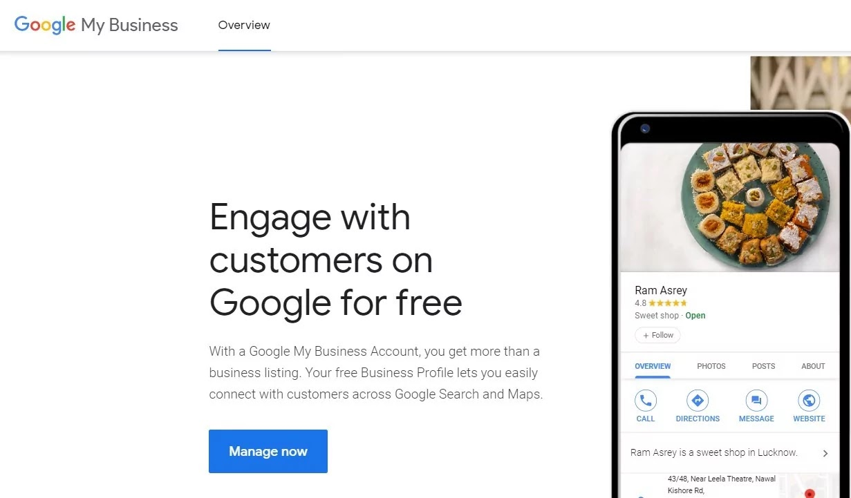 Goggle MyBusiness Messaging Rolling Out For Desktop