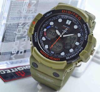 jam tangan Digitec 2092  green