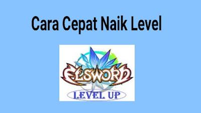 niscaya banyak juga yang ingin tau kenapa ada pemain yang sanggup naik level maksimal dalam se Cara Cepat Leveling di Elsword Online