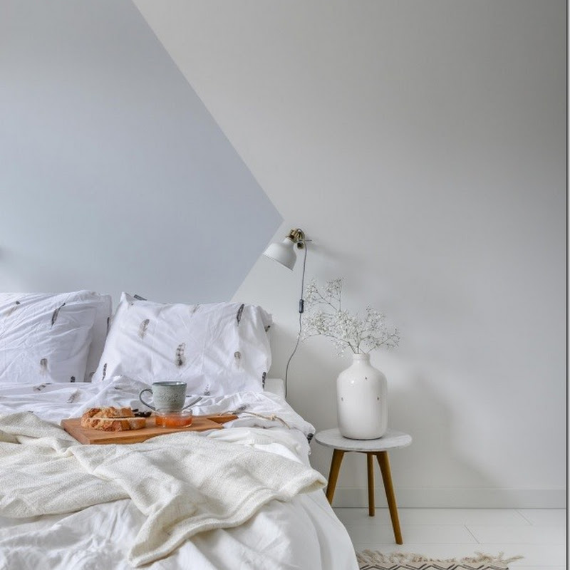 decorare le pareti con strisce dipinte - case e interni - Disegni Su Pareti Soggiorno 2