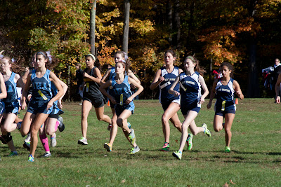Group a girls start...Erica Canas of old tap second from right. Photo by Tom Hart #2