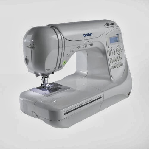 Brother Project Runway PC40PRW 40Stitch Professional Grade Simple Lettering Sewing Machine