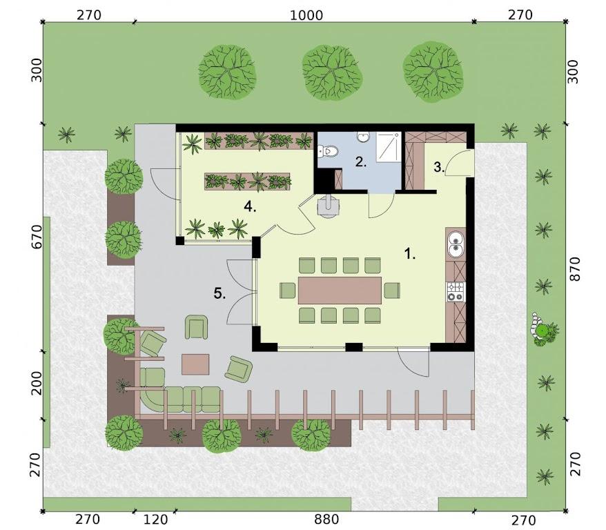 Projekt Kl12 Kuchnia Letnia Bud Gospodarczy Txs 353