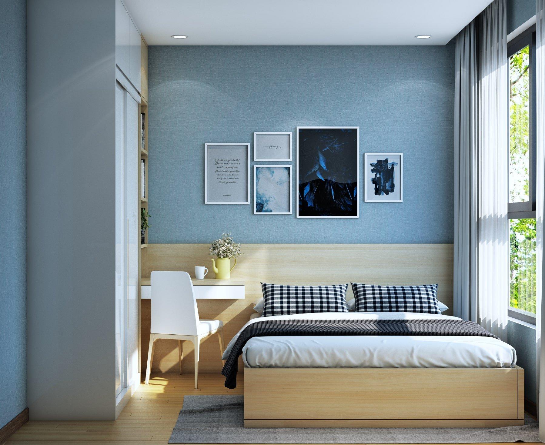 Thiết kế phòng ngủ tại Bcons Suối Tiên