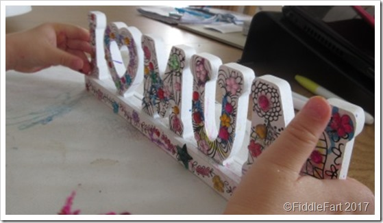 MOthers Day Crafting 3