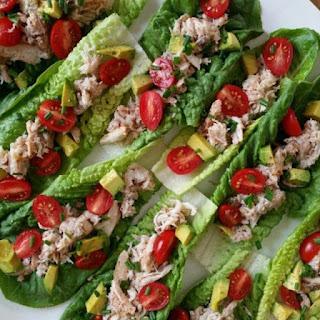 Crab Salad Lettuce Cups.