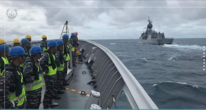 TNI AL Menggelar Latihan Gabungan dengan Royal Australian Navy