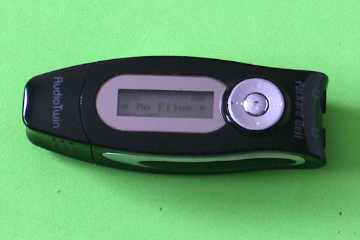 Antiguo reproductor MP3 - USB PACKARD