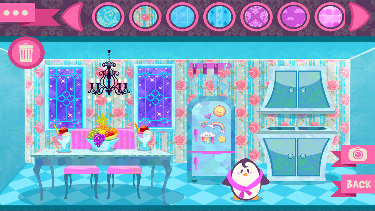 ice castle princess doll house   android apps on google play