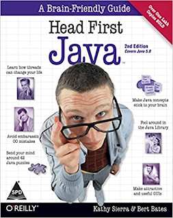 Head first java book