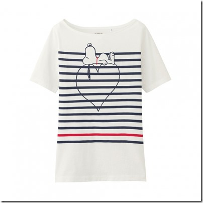 Uniqlo UT WOMEN Peanuts Short Sleeve Graphic T-Shirt 09