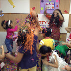 Holi Celebration at Witty World, BN by Sr. KG Section A & B [ 2015-16 ]