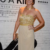 WWW.ENTSIMAGES.COM -     Jane Copeland  arriving    at      THE UK PREMIERE OF (JACK TO A KING) THE SWANSEA STORY at EMPIRE, LEICESTER SQUARE London September 12th 2014.The movie of Swansea City's rise from near extinction to the top of the Premier League                                                 Photo Mobis Photos/OIC 0203 174 1069