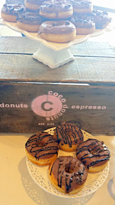 Coco Donuts Espresso Donuts were my favorite donuts from the Bakers Dozen Coffee Beer & Doughnuts festival (coffee beer and local donuts from all over PDX) at Culmination Brewing