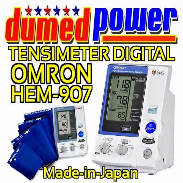 Omron HEM-907 Tensimeter Digital Otomatis