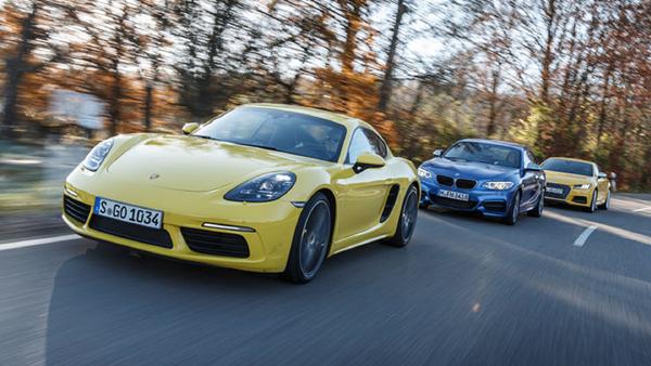 Audi-TTS-Coup-BMW-M240i-Coup-Porsche-718-Cayman