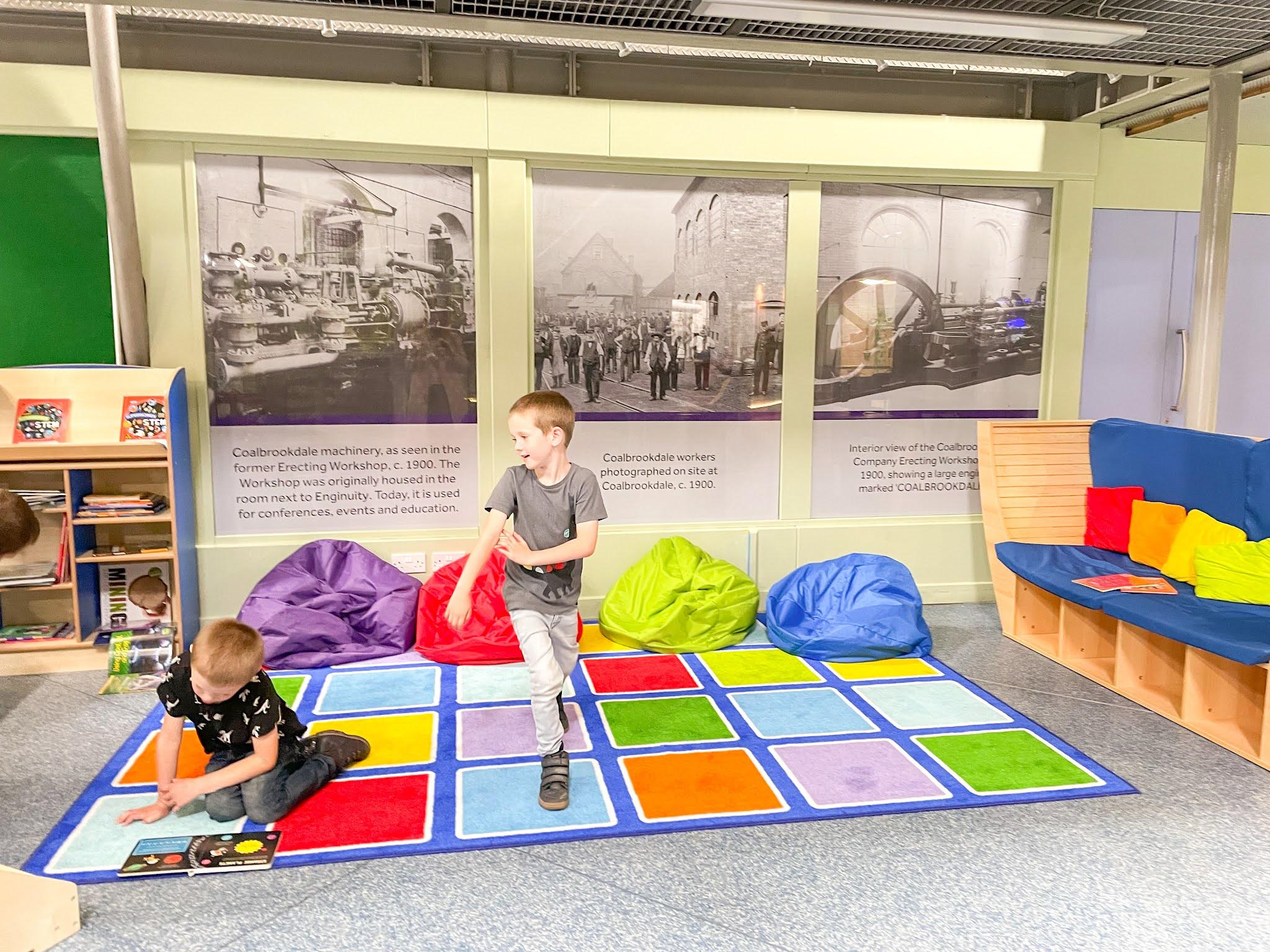 ironbridge telford, enginuity museum