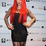WWW.ENTSIMAGES.COM -    Cervena Fox at      Stephen Handisides My Face My Body Awards at The Royal Garden Hotel London November 1st 2014                                                 Photo Mobis Photos/OIC 0203 174 1069