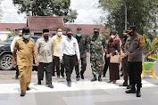 Wakapolres Dampingi Bupati Soppeng Terima Kunjungan Wamen Agama RI