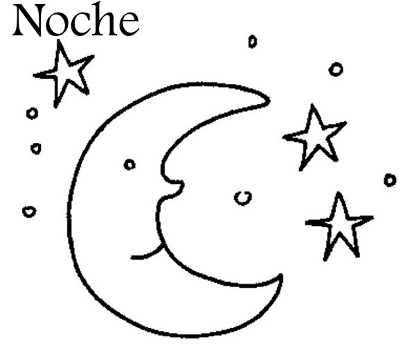 night time coloring pages - photo#29