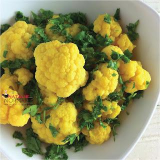 Herb Steamed Cauliflower Recipes