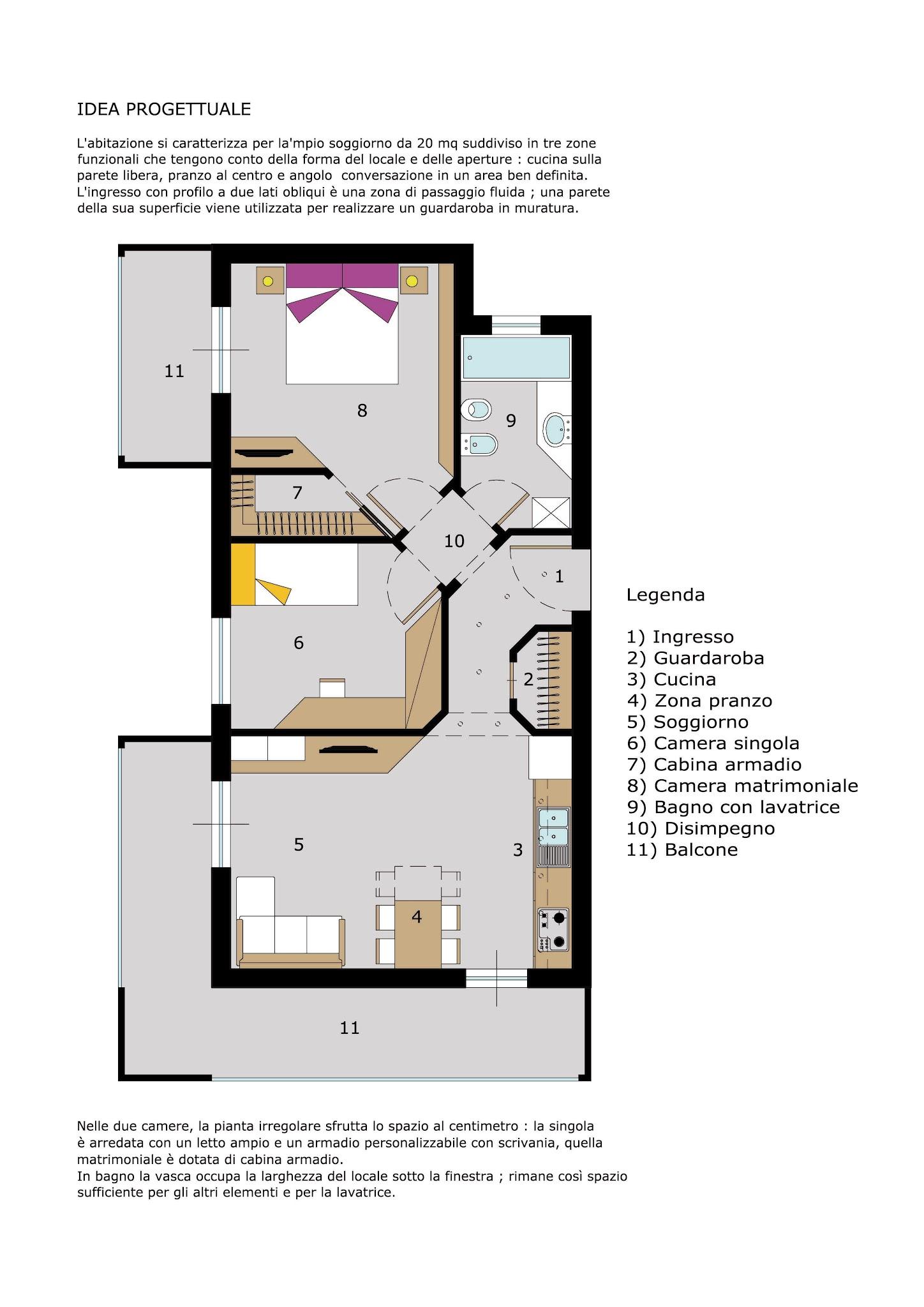 Dimensioni Cabina Armadio Angolare Casamia Idea Di Immagine